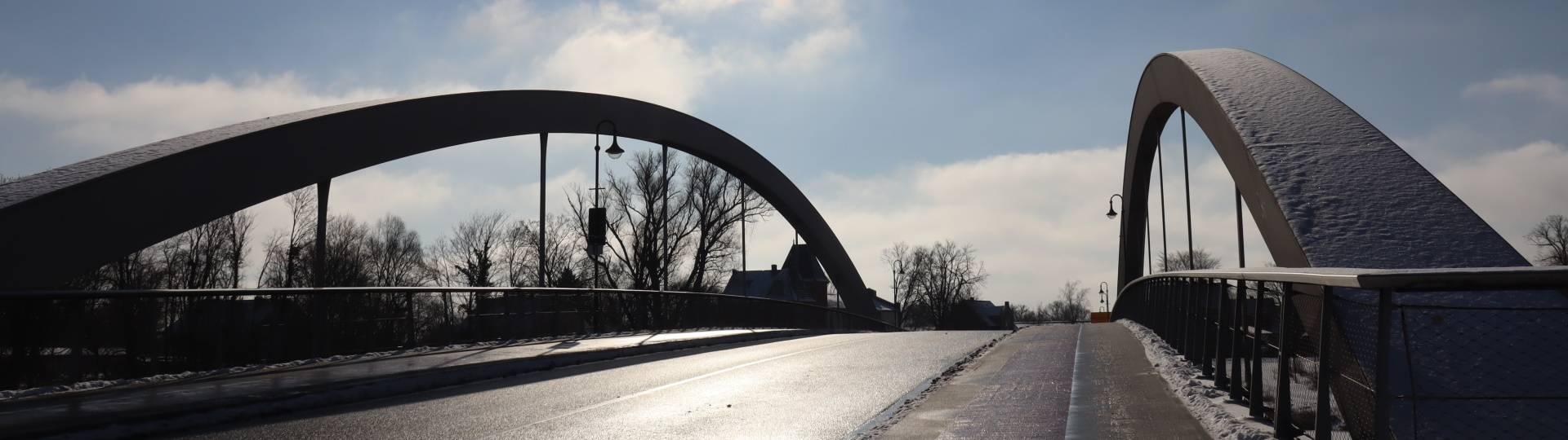 sandauer brücke verschneit ©Hansestadt Havelberg