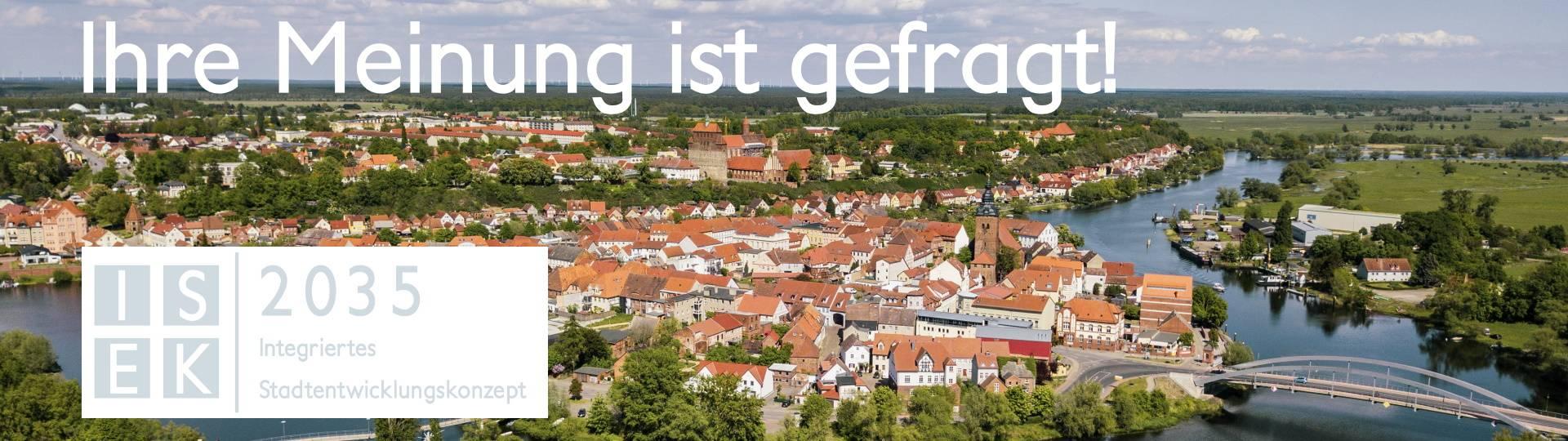 entwurf fett kopfgrafik isek 2035 ihre meiniung ist gefragt ©Hansestadt Havelberg