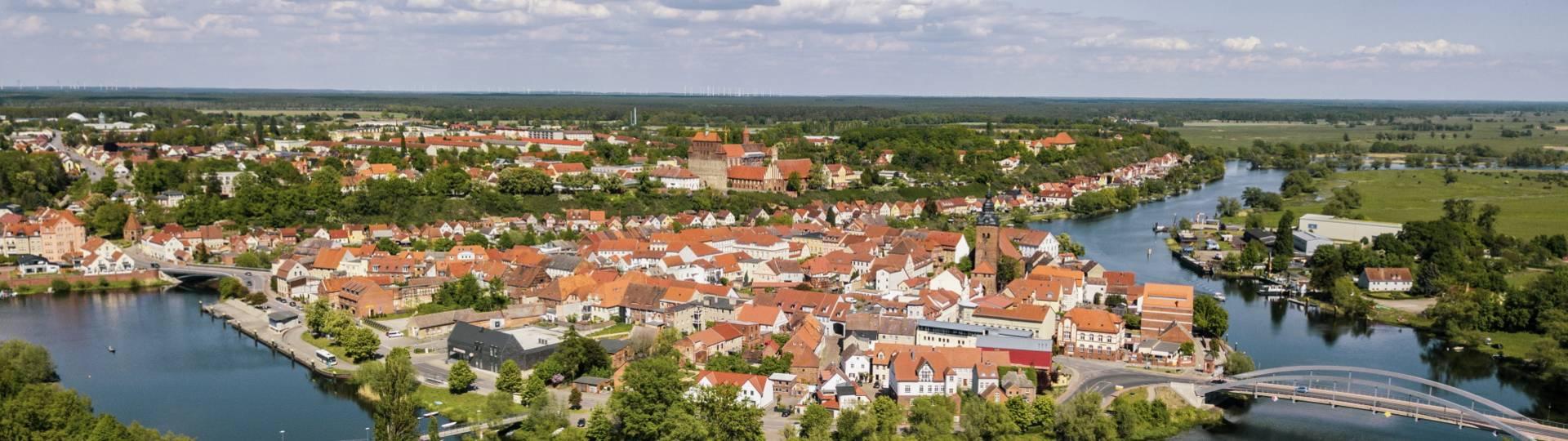 isek 2035 blick von oben auf unsere stadt  ©Hansestadt Havelberg