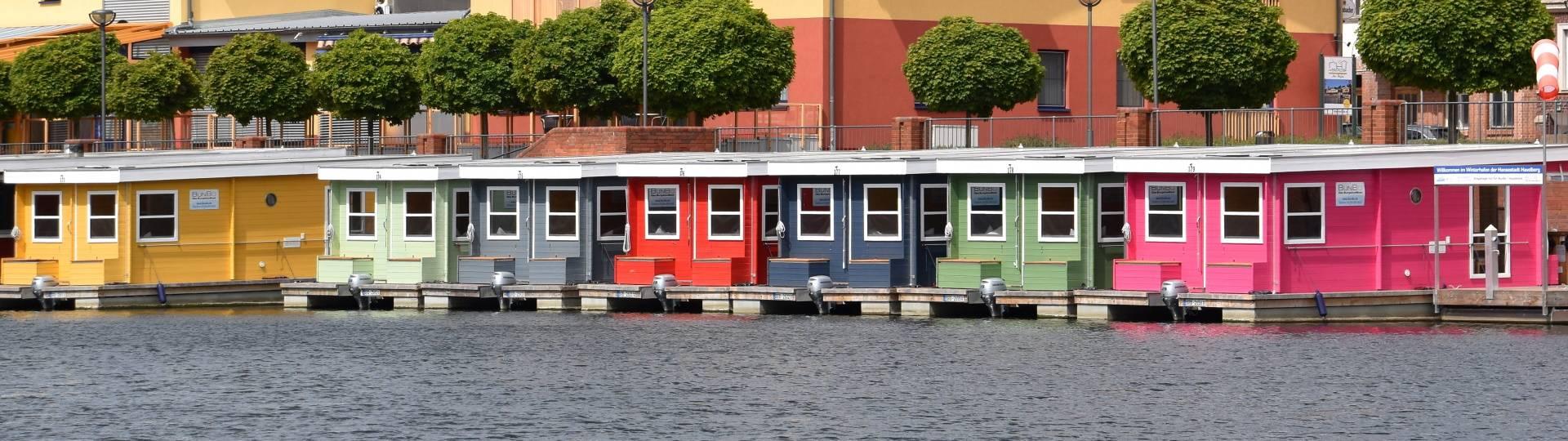 hausboote ©Hansestadt Havelberg