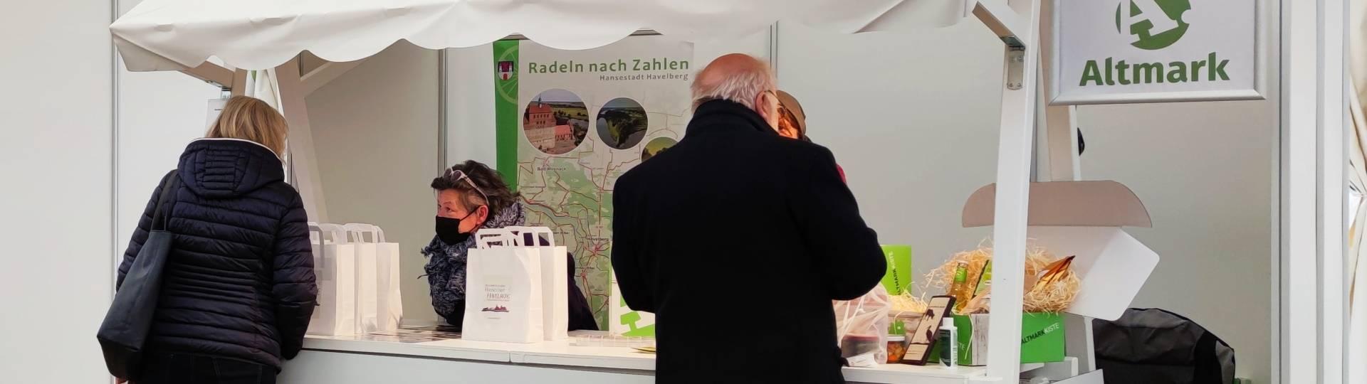 mit radeln nach zahlen beim marktplatz on tour in magdeburg dabei ©Hansestadt Havelberg