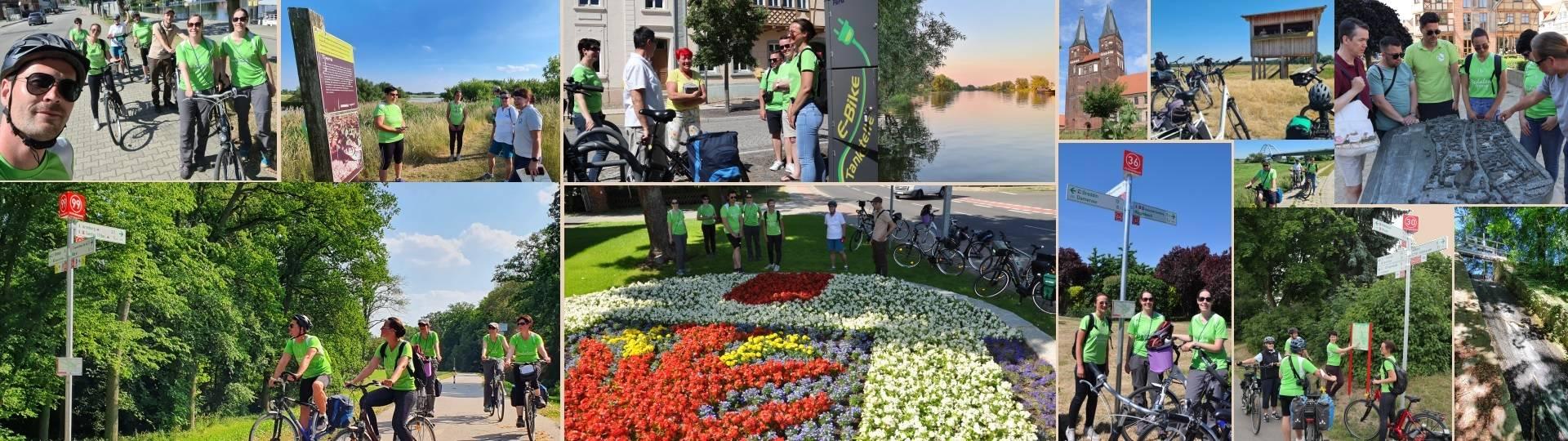 kopfgrafik pedalenspione unterwegs im elb havel winkel 2021 ©Hansestadt Havelberg