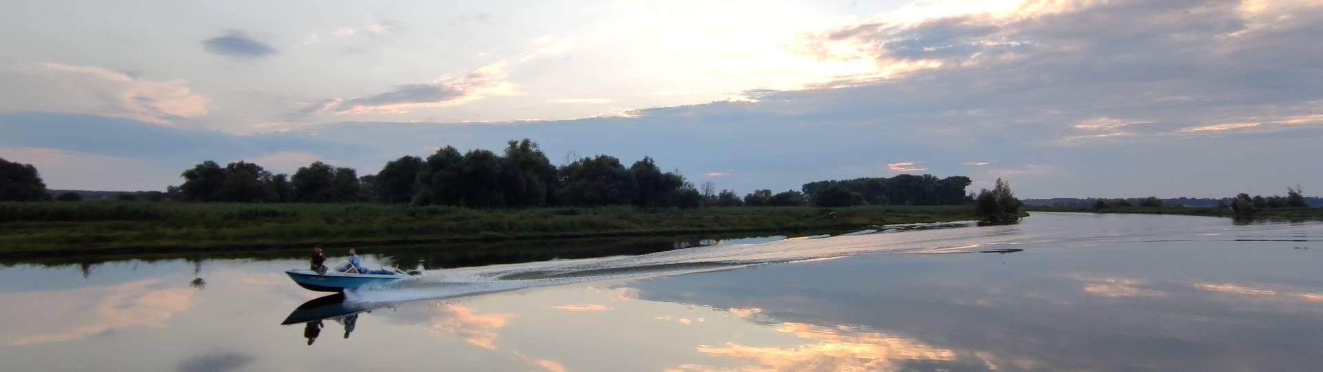 wie auf wolken durchs wasser gleiten ©Hansestadt Havelberg