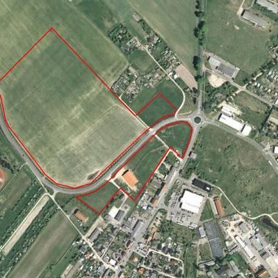 Lageplan Gewerbegebiet Oberfeldt