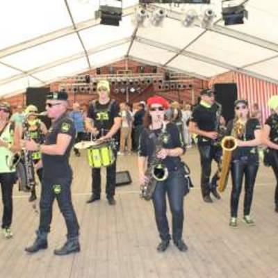 Sax'n-Anhalt-Orchester in Aktion_Copyright Hansestadt Havelberg © Hansestadt Havelberg