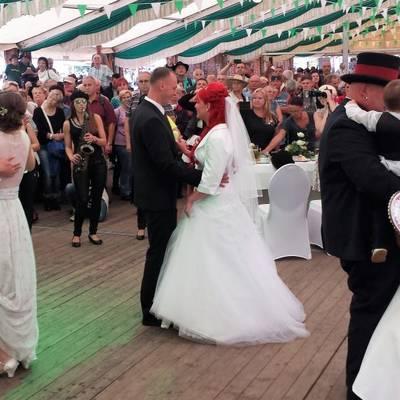 Tanz ins Eheglück beim Havelberger Pferdemarkt © Hansestadt Havelberg