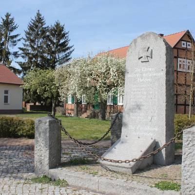 denkmal in jederitz © Hansestadt Havelberg